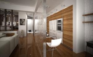 3d перегородка в дизайне интерьера