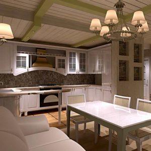 Пример дизайна кухни